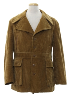1970's Mens Mod Car Coat Jacket