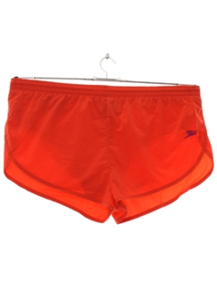 1990's Mens Wicked 90s Neon Swim Short Shorts