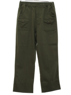 1960's Mens Boy Scout Work Pants