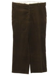 1960's Mens Corduroy Work Pants