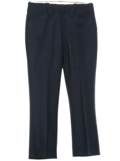 1970's Mens Mod Western Style Flared Leisure Pants