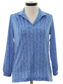 1970's Womens Pullover Shirt
