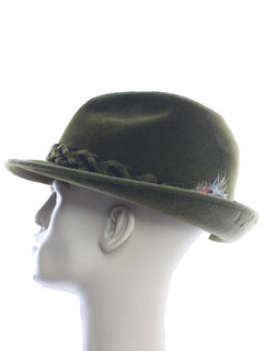 1950's Mens Accessories - Fedora Hat