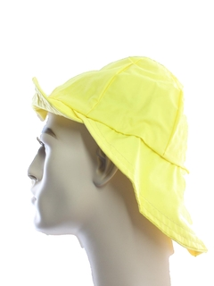 1970's Unisex Accessories - Vinyl Rain Hat