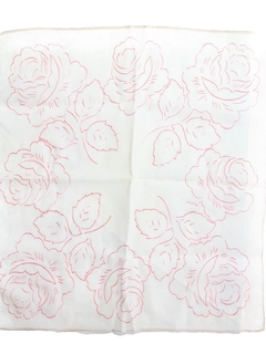 1960's Womens Accessories - Handkerchief Scarf