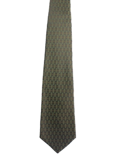 1960's Mens Wide Necktie