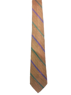 1970's Mens Diagonal Necktie