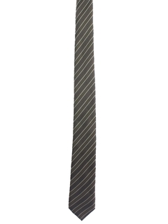 1980's Mens Diagonal Striped Necktie