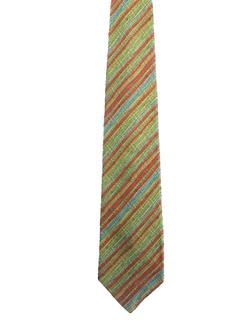 1960's Mens Wide Mod Necktie