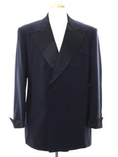 1960's Mens Mod Tuxedo Jacket