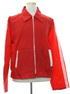 1970's Mens Mod Windbreaker Zip Jacket