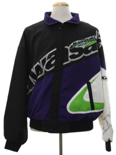 1990's Mens Wicked 90s Racing Jacket