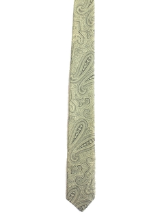 1960's Mens Mod Skinny Rockabilly Necktie