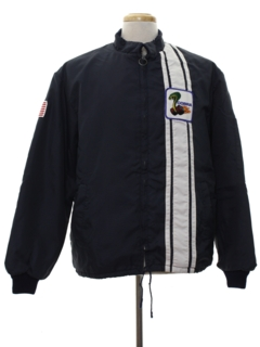 1980's Mens Mod Cobra Racing Jacket