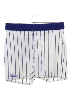 1980's Mens Baseball Sport Shorts