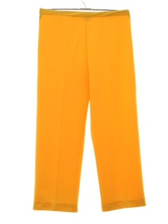1970's Womens Designer Knit Pants