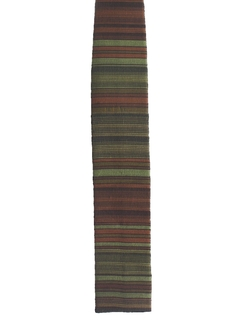 1960's Mens Mod Flat Bottom Necktie