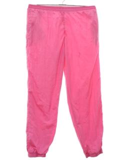 1980's Unisex Baggy Track Pants