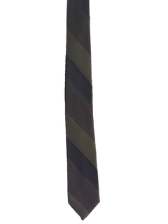 1960's Mens Diagonal Skinny Rockabilly Necktie