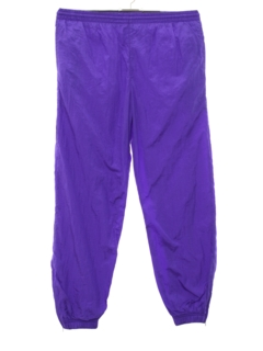 1980's Unisex Baggy Totally 80s Track Pants