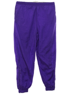 1980's Unisex Totally 80s Style Baggy Track Pants