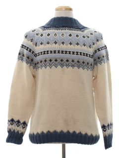 1960's Mens Wool Ski Sweater