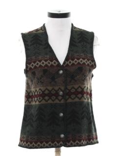 1980's Womens Vest