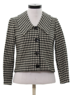 1960's Womens Wool Mod Jacket