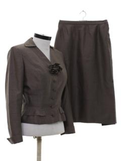 1950's Womens Fab 50s Designer Suit