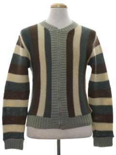 1960's Unisex Mod Sweater