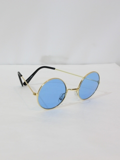 1970's Unisex Accessories - Round John Lennon Style Hippie Sunglasses