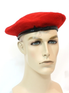 1970's Mens Accessories - Wool Scout Beret