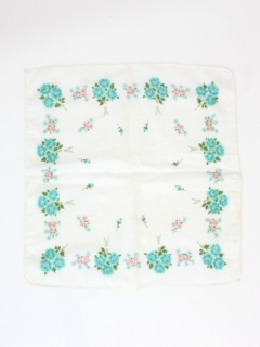 1950's Womens Accessories - Handkerchief Scarf