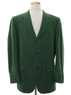 1960's Mens Mod Blazer Style Sport Coat Jacket