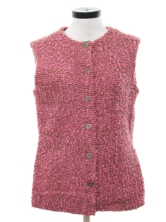 1960's Womens Mod Vest