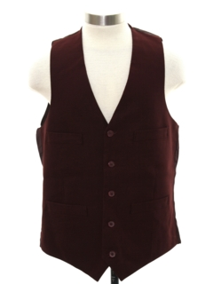 1970's Mens Disco Suit Vest