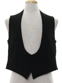 1930's Mens Wool Suit Vest
