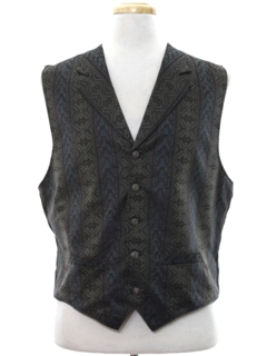 1920's Mens 1900s Reproduction Style Suit Vest
