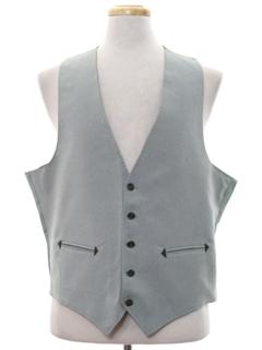 1970's Mens Western Style Disco Suit Vest