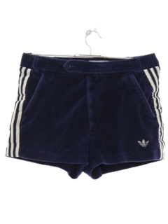 1980's Mens Totally 80s Terry Cloth Sport Shorts