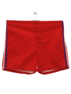 1960's Mens Mod Board Surf Shorts