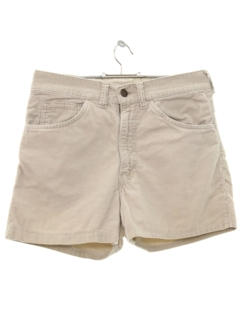 1980's Mens BIG E Levis Corduroy Shorts