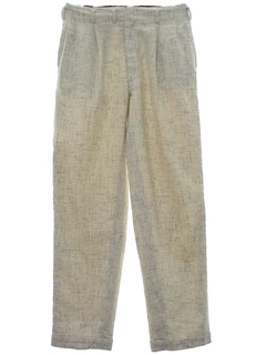 1950's Mens Rockabilly Pleated Slacks Pants