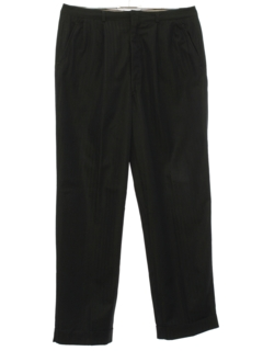 1960's Mens Rockabilly Pleated Slacks Pants