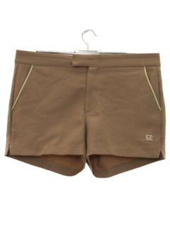 1980's Mens Mod Tennis Sport Shorts