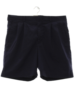 1980's Mens Totally 80s Pleated Shorts