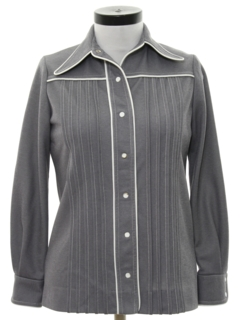1970's Womens Leisure Style Shirt Jacket