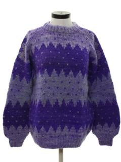 1980's Womens Wool Sweater