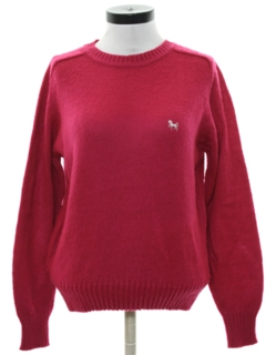 1980's Womens Preppy Sweater