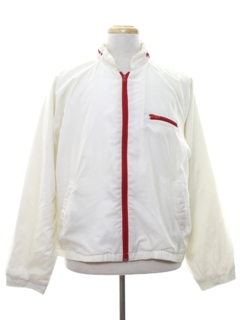 1970's Mens Mod Wind Breaker Zip Jacket